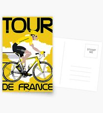 Tour De France Postcards