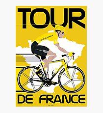 Lámina fotográfica Tour de Francia