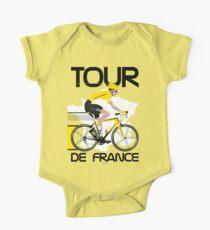 Tour De France Baby Body Kurzarm