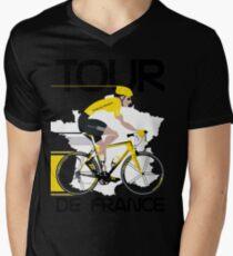 Tour De France Men's V-Neck T-Shirt