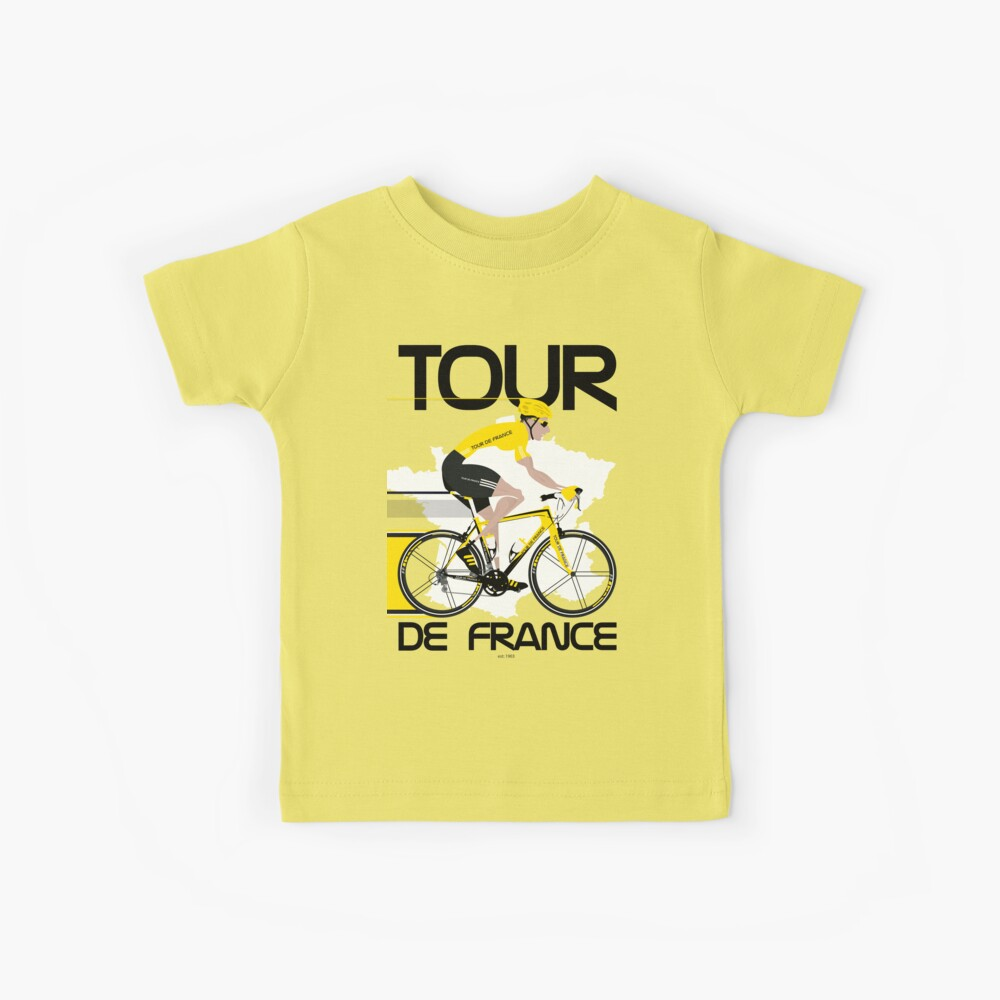 Tour de Francia Camiseta para niños