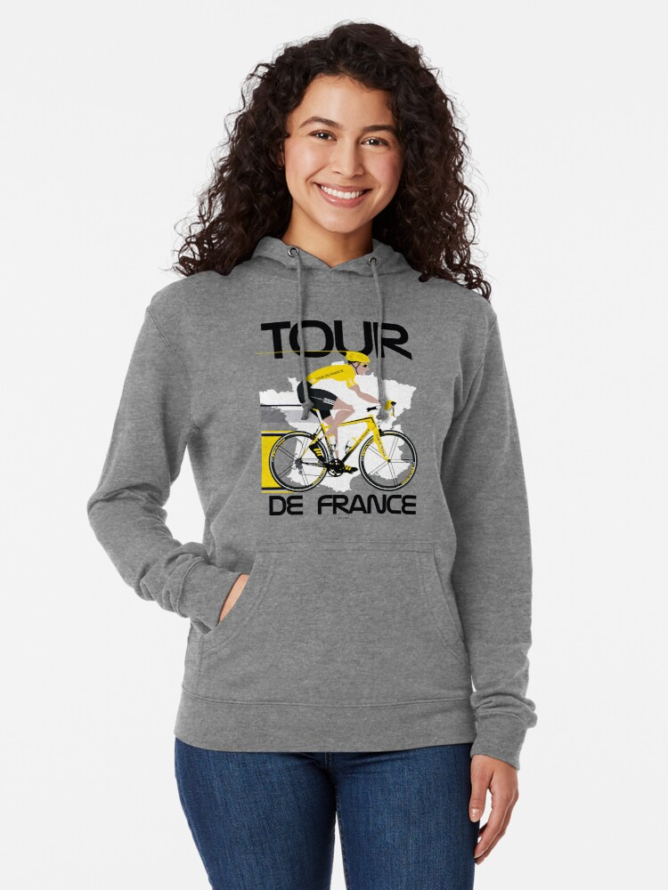 Alternate view of Tour De France Lightweight Hoodie