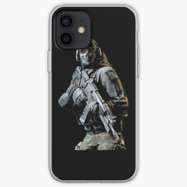 Ghost Solider- Warzone iPhone Soft Case