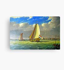 Sailing Dutchman Canvas Print