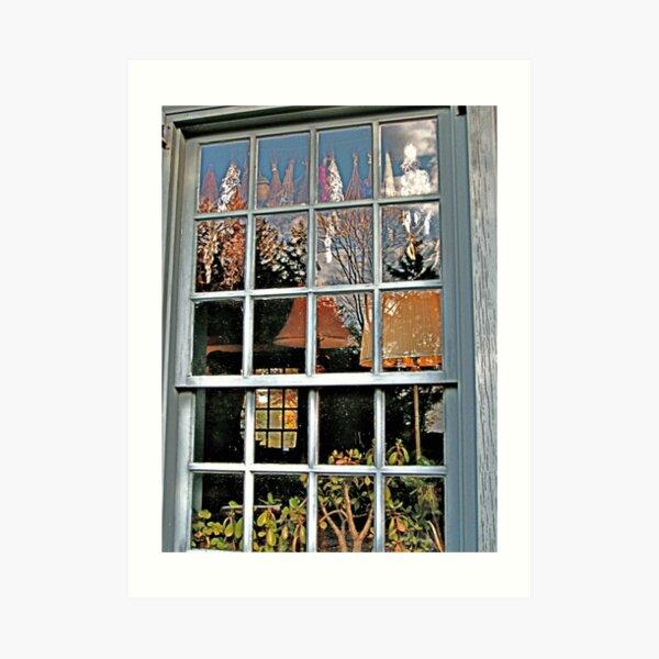 Window, Dey Mansion, Wayne NJ  Art Print