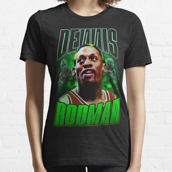 Dennis Rodman Vintage Chicago Bulls Last Dance Essential T-Shirt