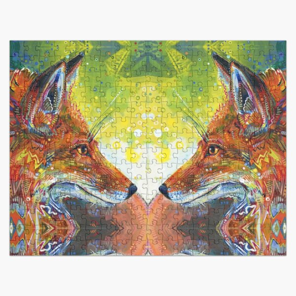 Red Fox Painting - 2012 Jigsaw Puzzle