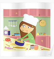 Messy Cook! Poster