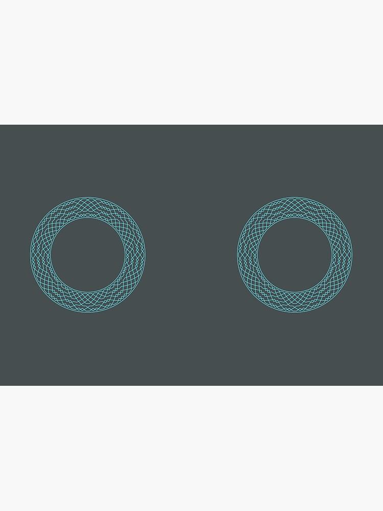 London Surprise Major Method Wreath — Notebook (Blue) by RingingRoom