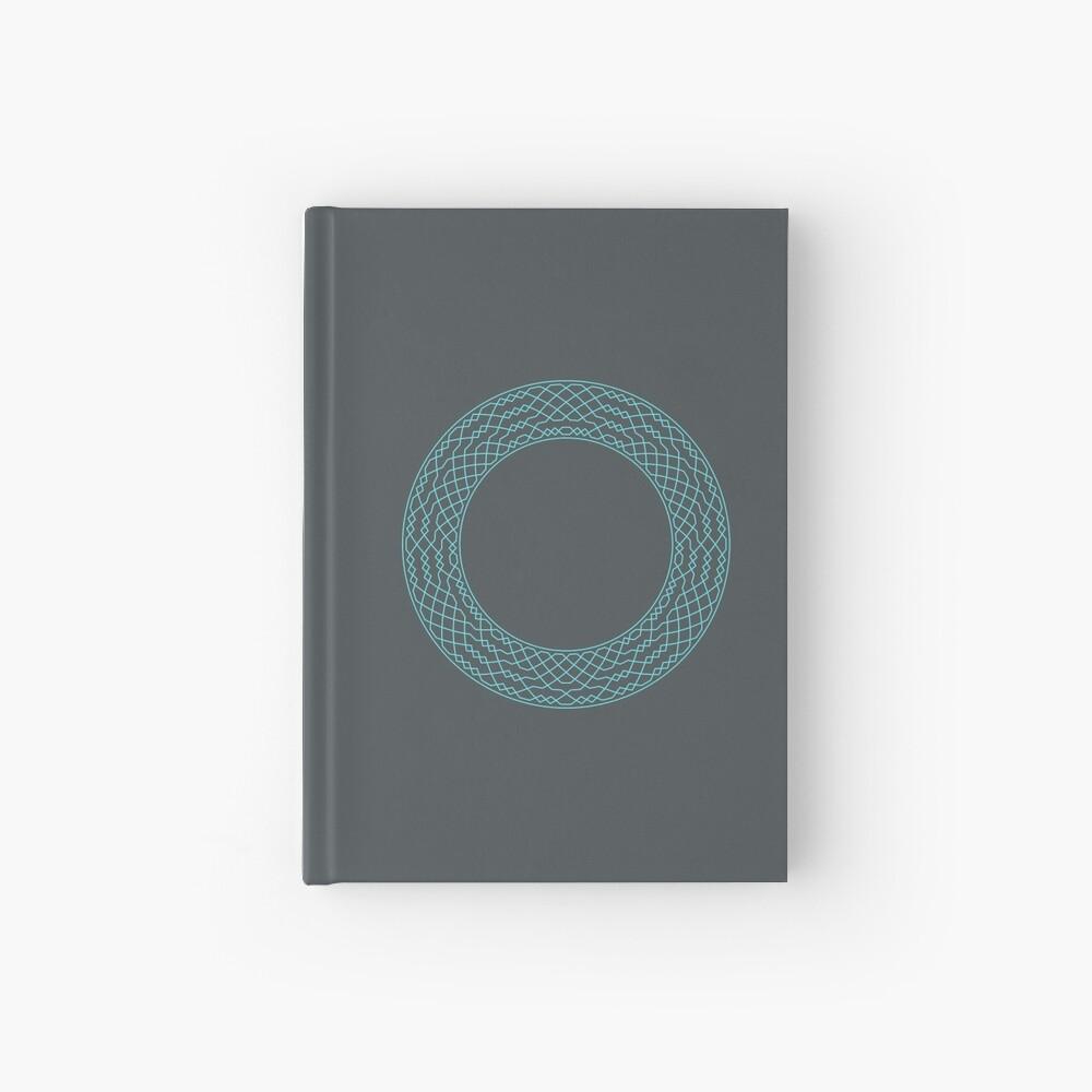 London Surprise Major Method Wreath — Notebook (Blue) Hardcover Journal