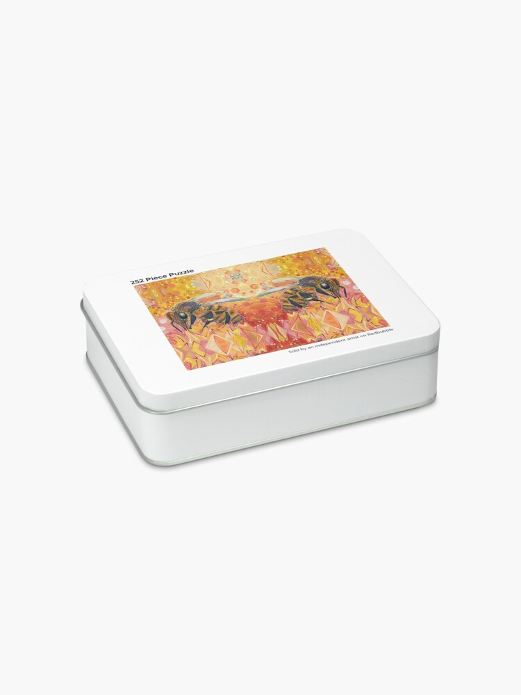 Alternate view of Western Honey Bee Painting - 2012 Jigsaw Puzzle