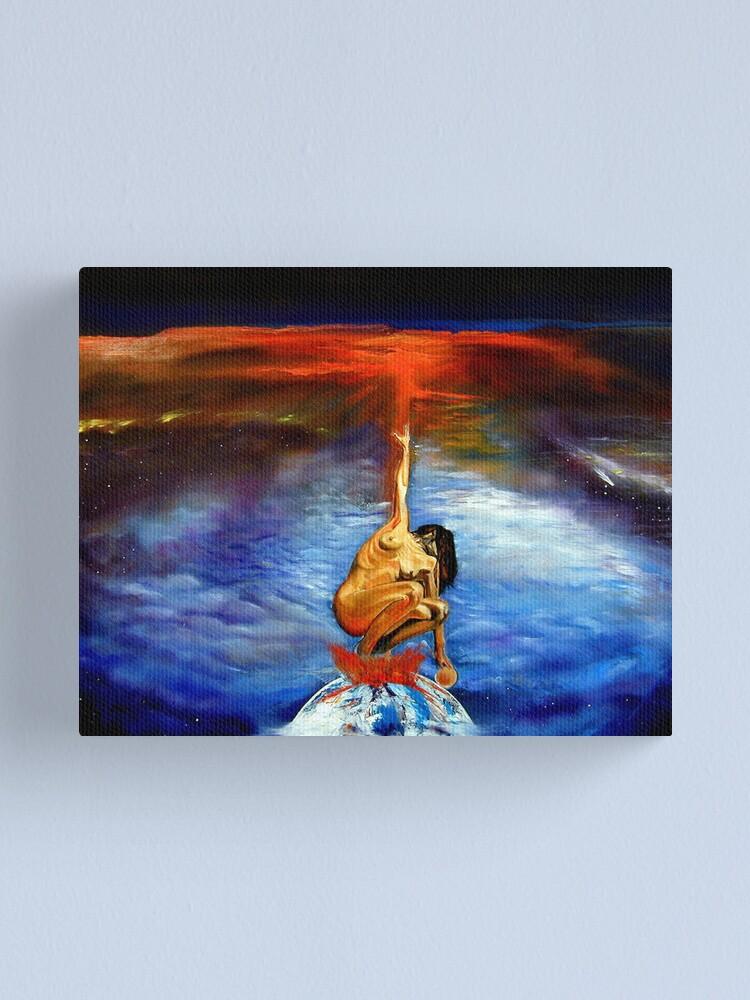 Alternate view of Harmonic Convergence Canvas Print