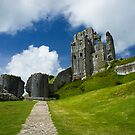 Corfe Castle by Sally Barnett
