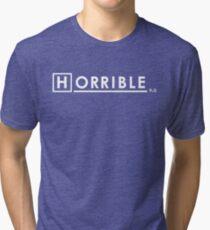 Dr Horrible x House Ph.D. Tri-blend T-Shirt
