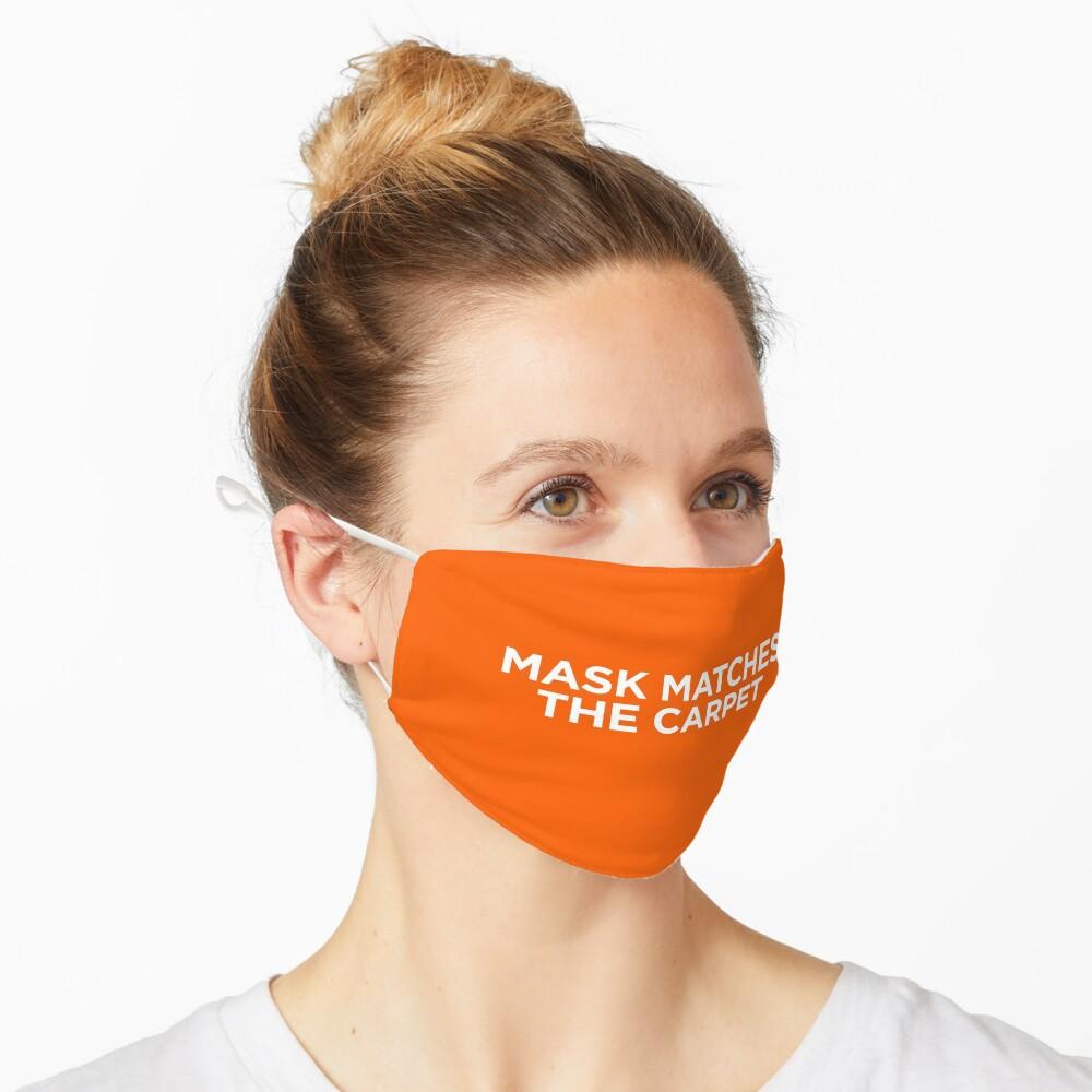 Team Coco Mask Matches The Carpet (Orange) Mask