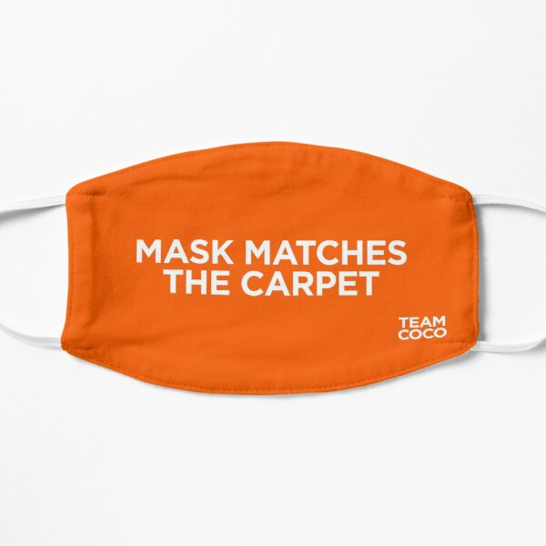 Team Coco Mask Matches The Carpet (Orange) Mask