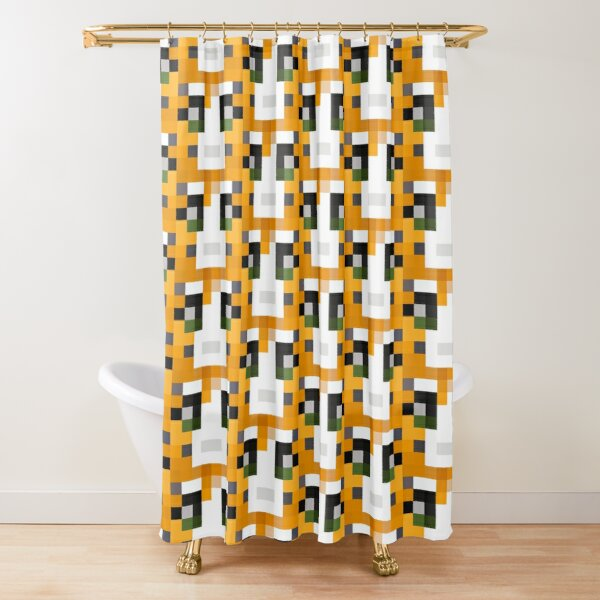 Stampy Minecraft skin Shower Curtain