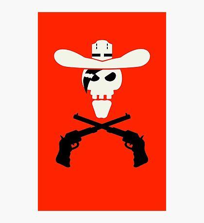 Dead Cowboy VRS2 Photographic Print