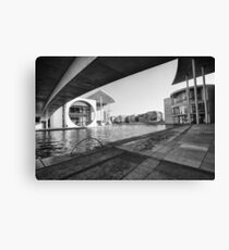 Contrasts in modern architecture Canvas Print