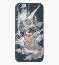 Vinilo o funda para iPhone Skull Octopus Graphic tshirt -- Kraken Skull -- fitted Men Unisex t shirt