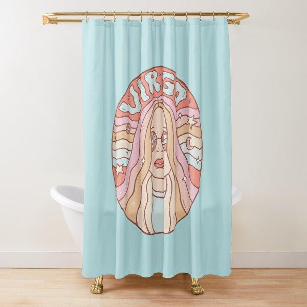 Virgo Shower Curtain