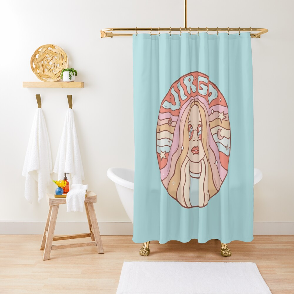Virgo Shower Curtain