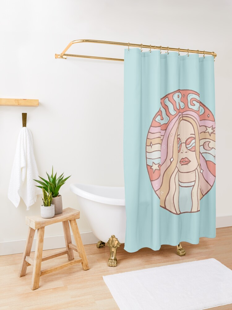 Alternate view of Virgo Shower Curtain