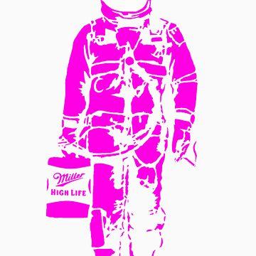Astronaut - purple by Sieell