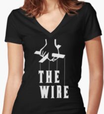 The Wire Women's Fitted V-Neck T-Shirt