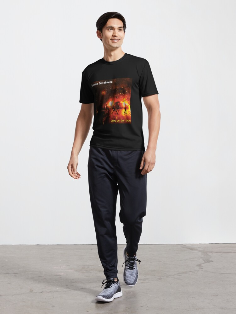 Alternate view of Burn Up This Truth Active T-Shirt