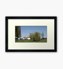 Just Another Day in Our Backyard - #4 in Series Framed Print