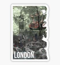 London, 1968 Sticker