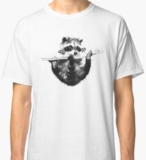 Hanging Raccoon Classic T-Shirt
