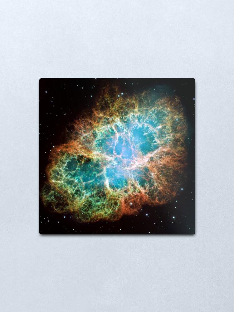 Alternate view of Crab nebula Metal Print