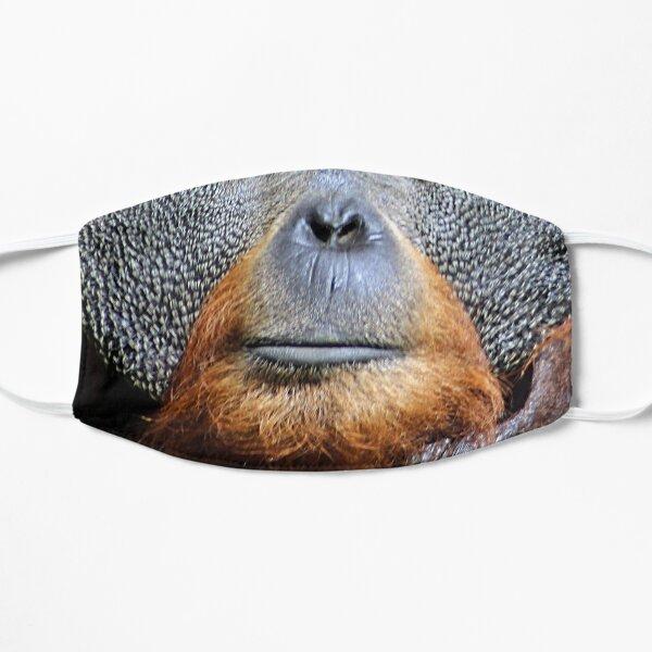 Orangutan Ape Face Portrait Closeup Mask