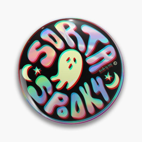 Holo Sorta Spooky ©  Pin