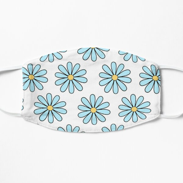 Blue Daisies Mask