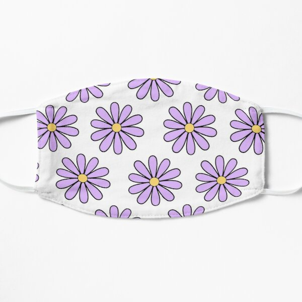 Purple Daisies Mask