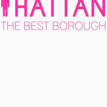 Man hattan Tee - Best - Color Lettering by manhattantee