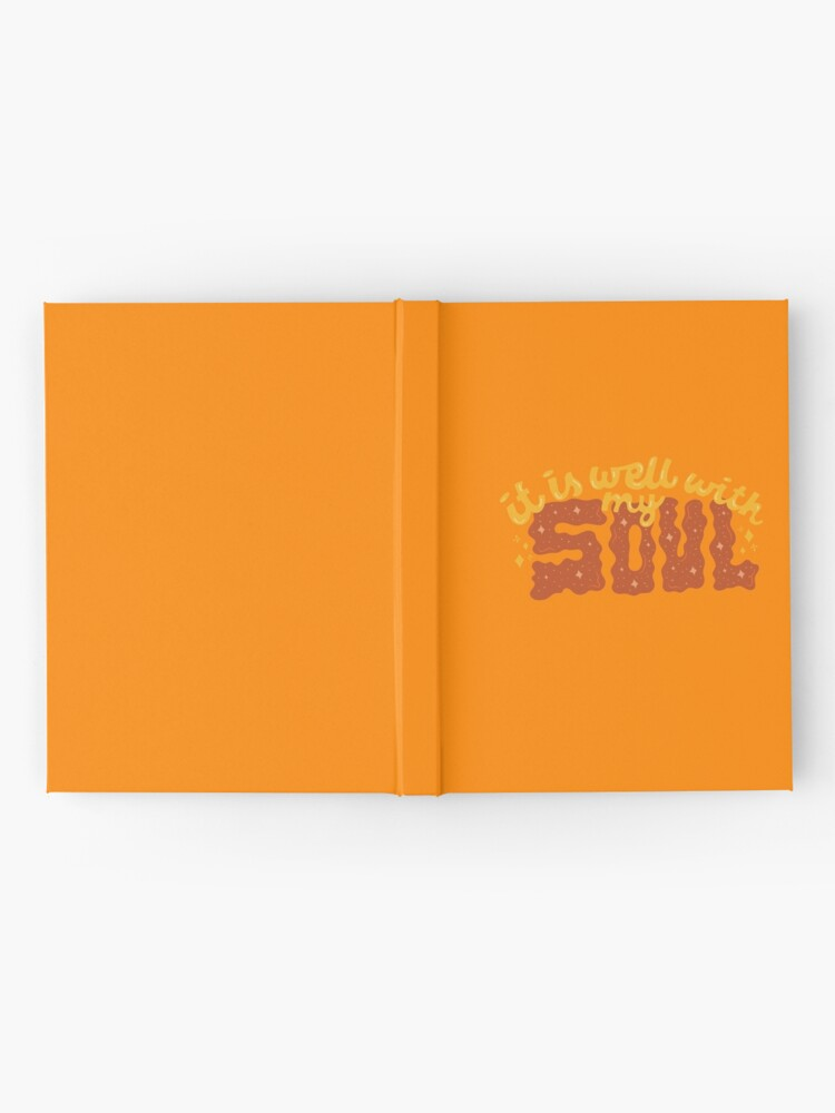 Alternate view of It is well with my Soul Hardcover Journal