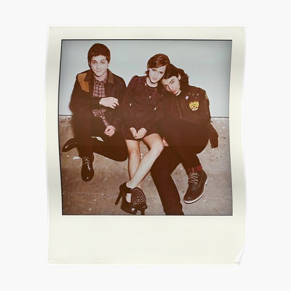 Perks of being a Wallflower Polaroid Poster