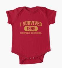 I Survived Sunnydale High Baby Body Kurzarm