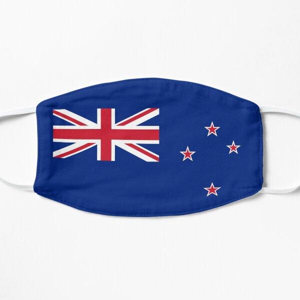New Zealand Flag Flat Mask