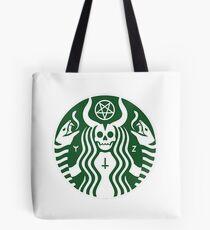 Der Satan-Bock Tote Bag