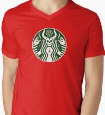 The satan-buck Men's V-Neck T-Shirt