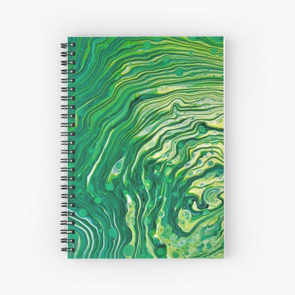 Looking for Malachite Spiral Notebook