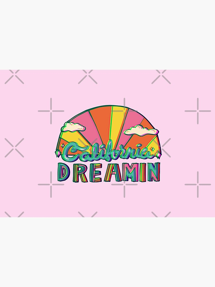 California Dreamin' in 3D by doodlebymeg