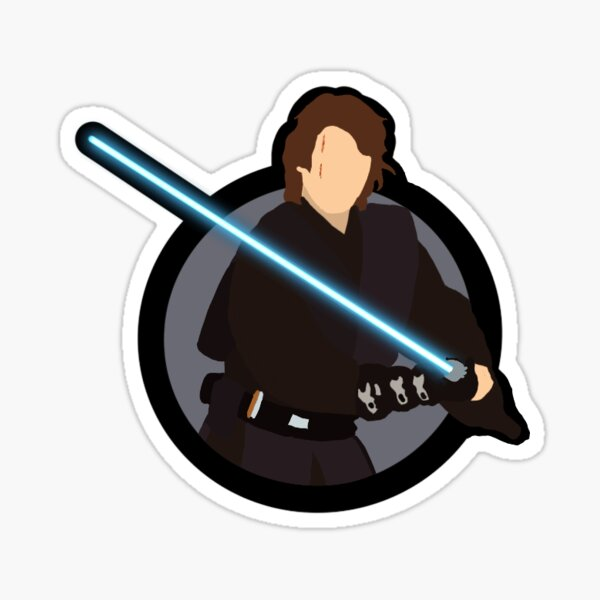 Cartoon Anakin Sticker