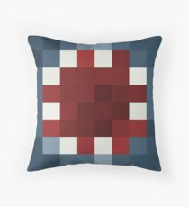 iBallisticSquid Minecraft skin Throw Pillow