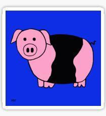 porker snufflesnort Sticker